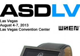 whenwatch exhibition at Las vegas, August 4-7,2013