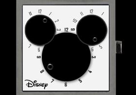 DISNEY TIME   whenwatch Disney edition design